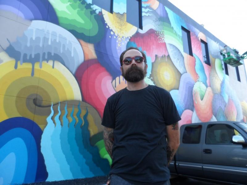 SHINE mural