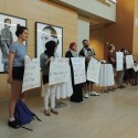 SJP protests Shlomo Brom