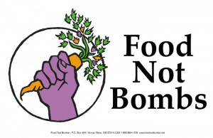 Food Not Bombs by www.foodnotbombs.net