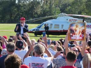 Donald Trump in Sarasota Photo by Samuel Johnson