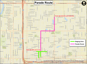 MLK 2016-Parade-Route-Map