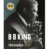 """This intimate portrait of living legend B.B. King celebrates the blues singer and guitarist with 75 color and black-and-white photos, facsimile reproductions of items from his personal archive, and--similar to the popular """"The Sinatra Treasures""""--an audio CD featuring unreleased music and interviews."""