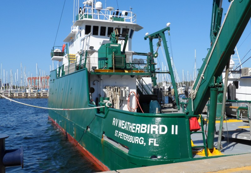 USF Weatherbird marine science ship
