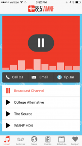 Listen to our broadcast & digital channels