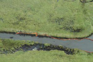 wetlands marsh oil spill