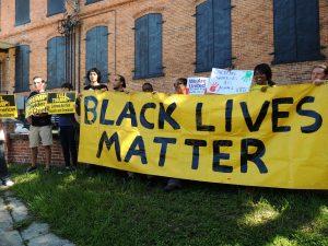 Donald Trump. Black Lives Matter