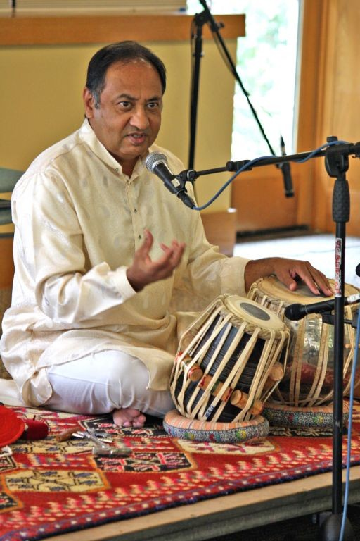 Nandkishor Muley says he is blessed to share the music and culture of India.