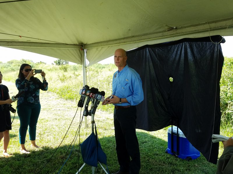 Rick Scott on Mosaic sinkhole