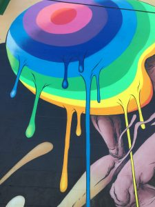 Alex Pardee mural detail