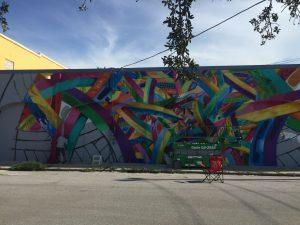 Apexer mural in progress