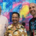 Juan Melendez and Mark Elliott with host Rob Lorei