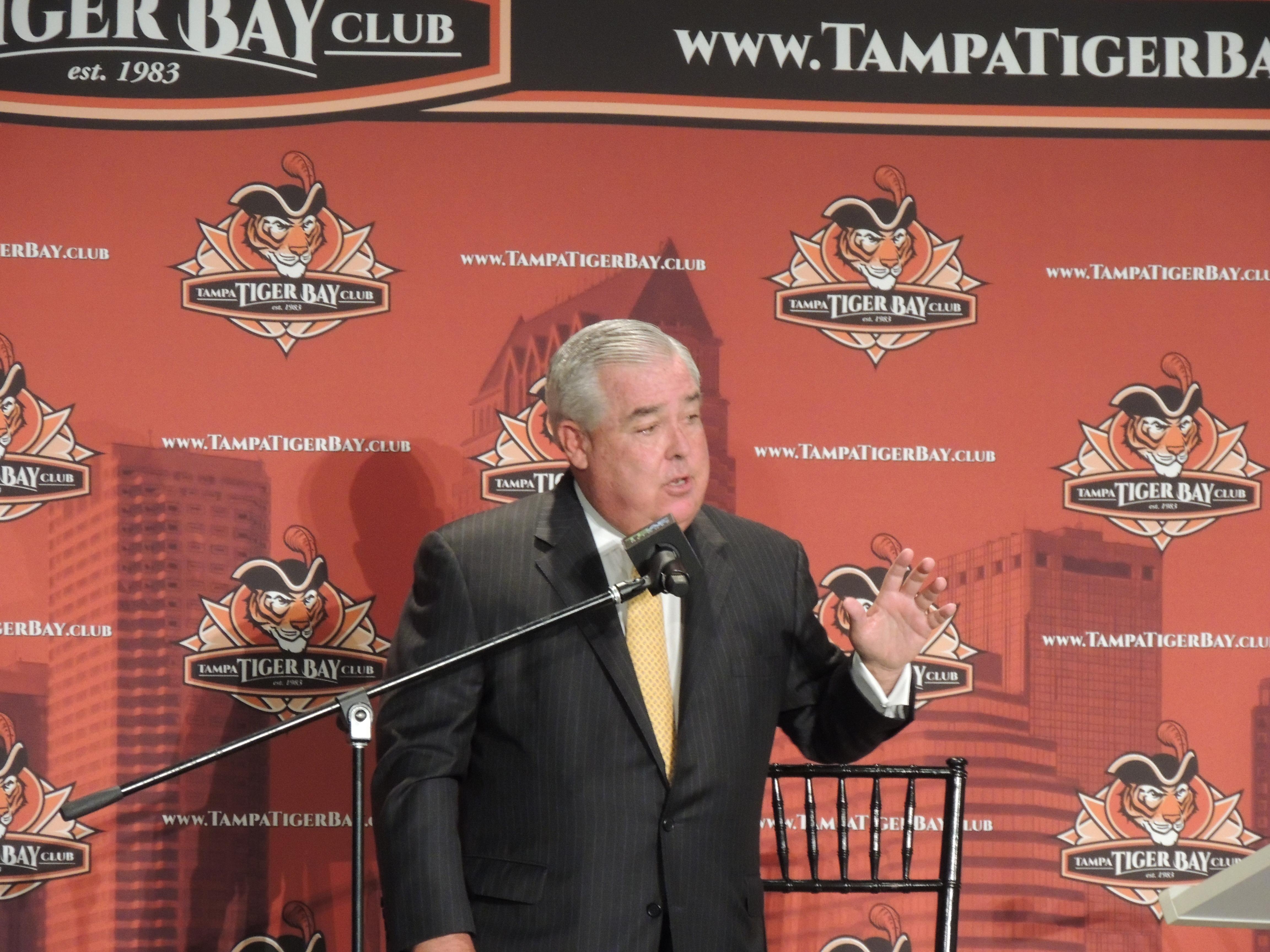 Photo of John Morgan at Tiger Bay Club