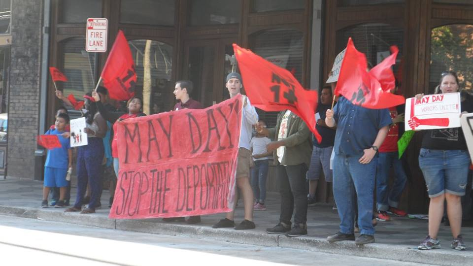 May Day labor International Workers' Day unions