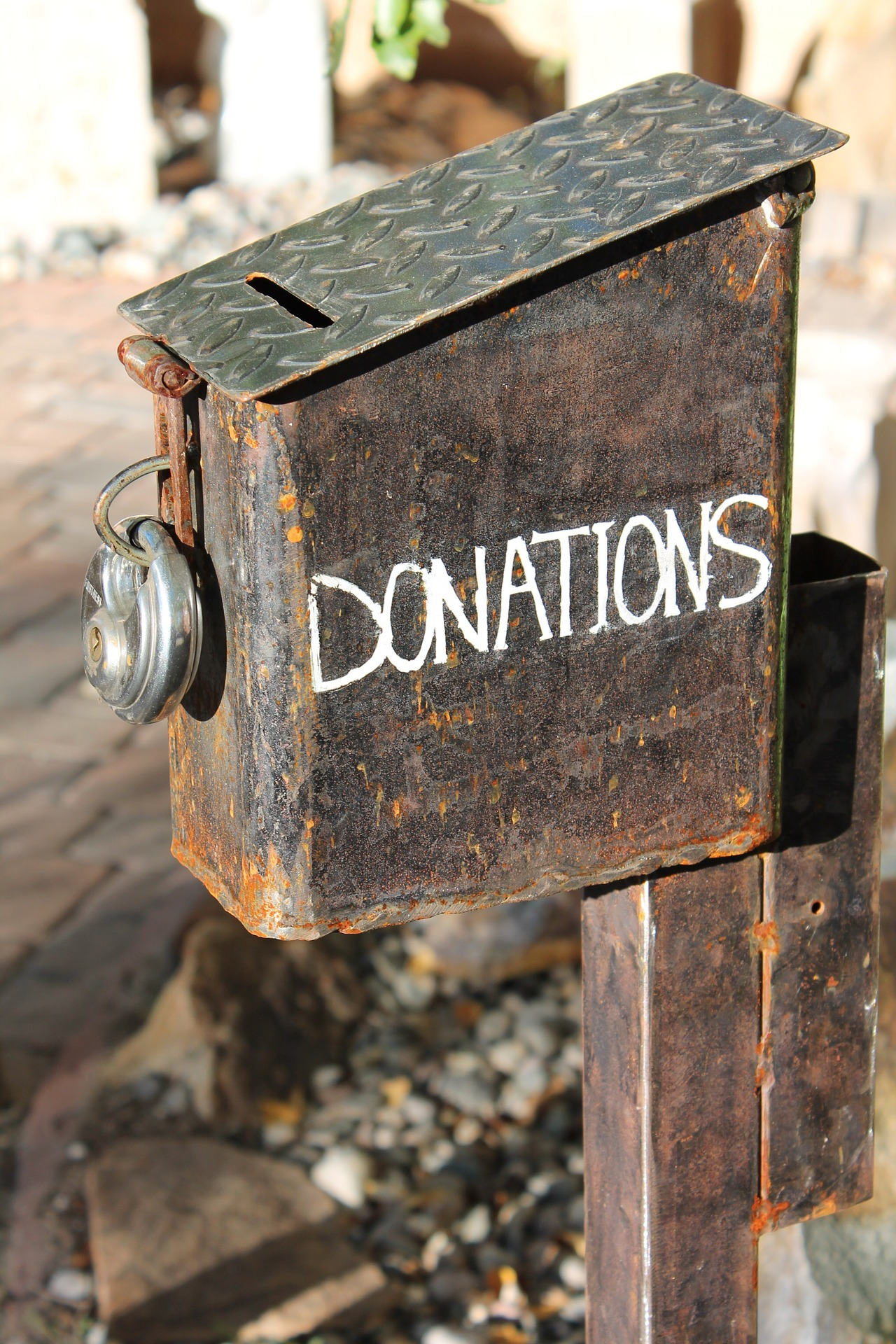 Picture of donation box