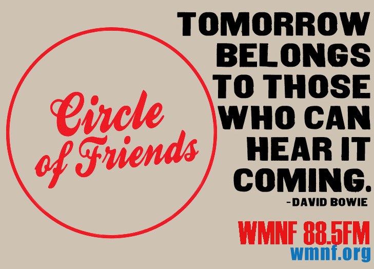 Wmnf Bowie Shirt Circle Of Friends Wmnf