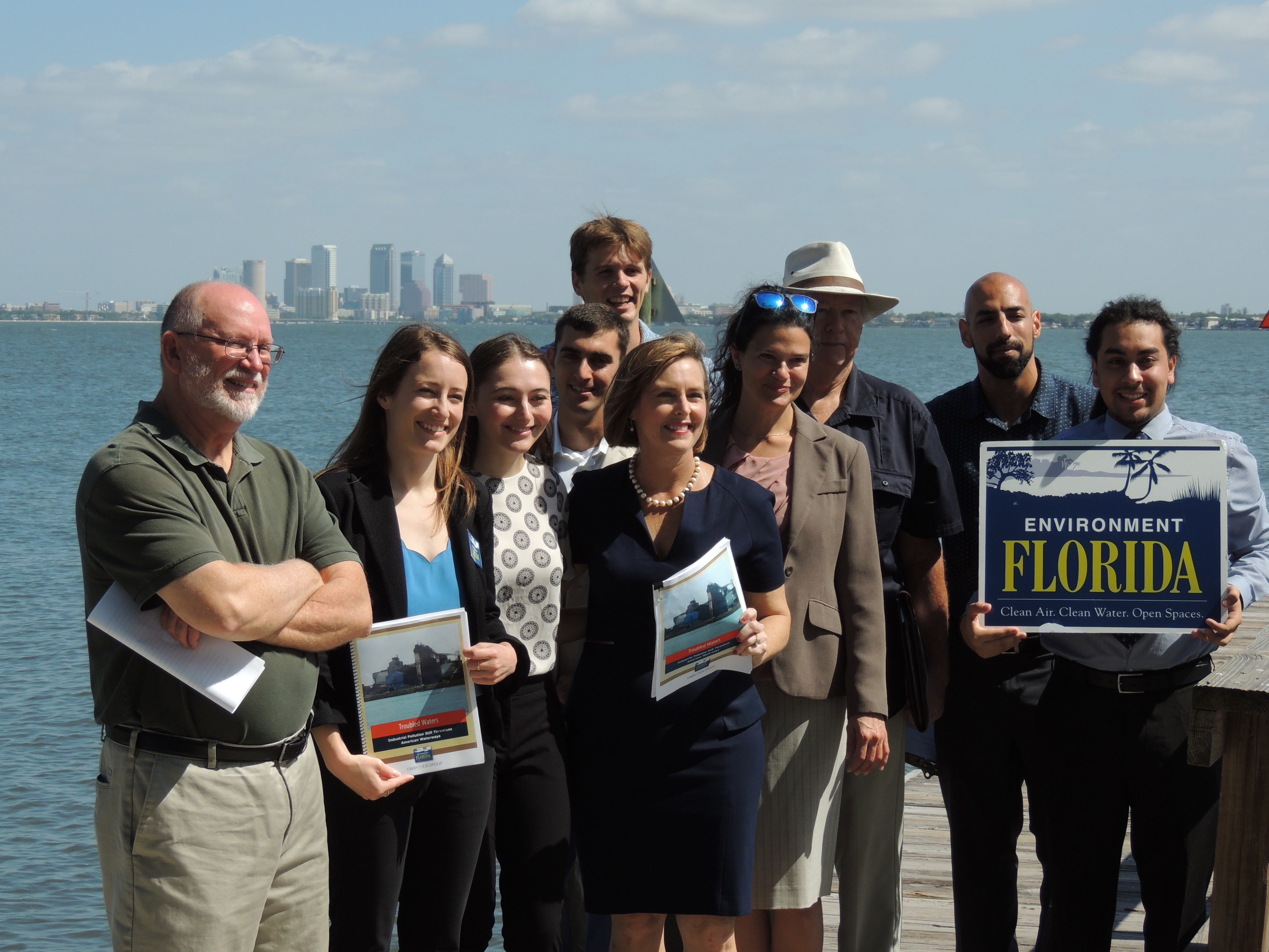 Environment Florida releases report called Troubled Waters on industrial pollution
