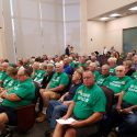 Hilsborough County Commission meeting about rezoning at a shooting range