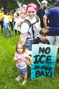 Families Belong Together rally in Tampa migrants immigrants