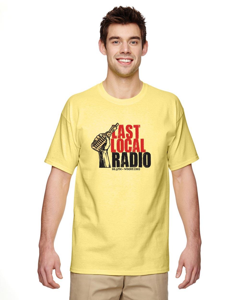 d89a4b90aa5031 WMNF Last Local Radio T-Shirt