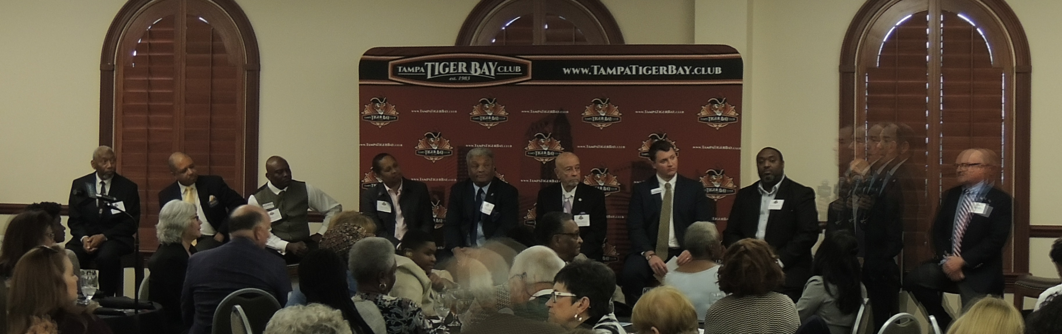 Tampa City Council candidates 2019 election Tampa Tiger Bay Club