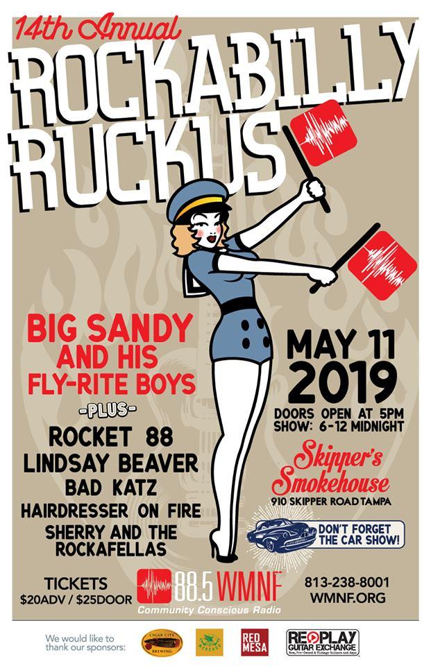 WMNF | WMNF 14th Annual Rockabilly Ruckus - WMNF