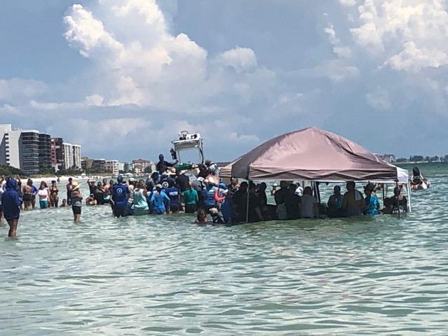 whale stranding photo Redington Beach Florida July 2019