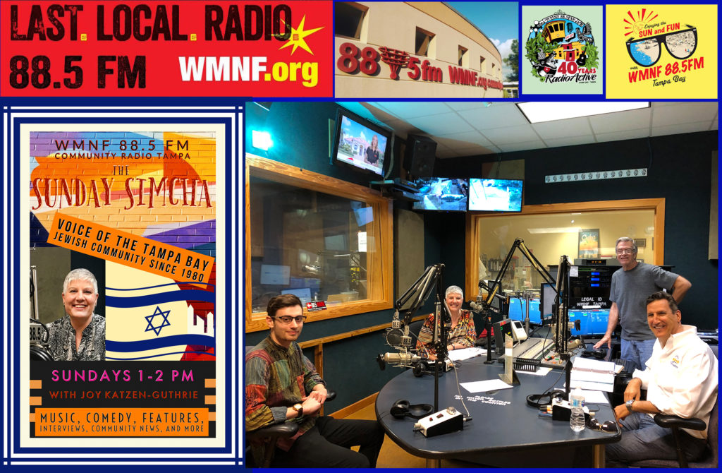 Guest Co-Host for the Sunday Simcha