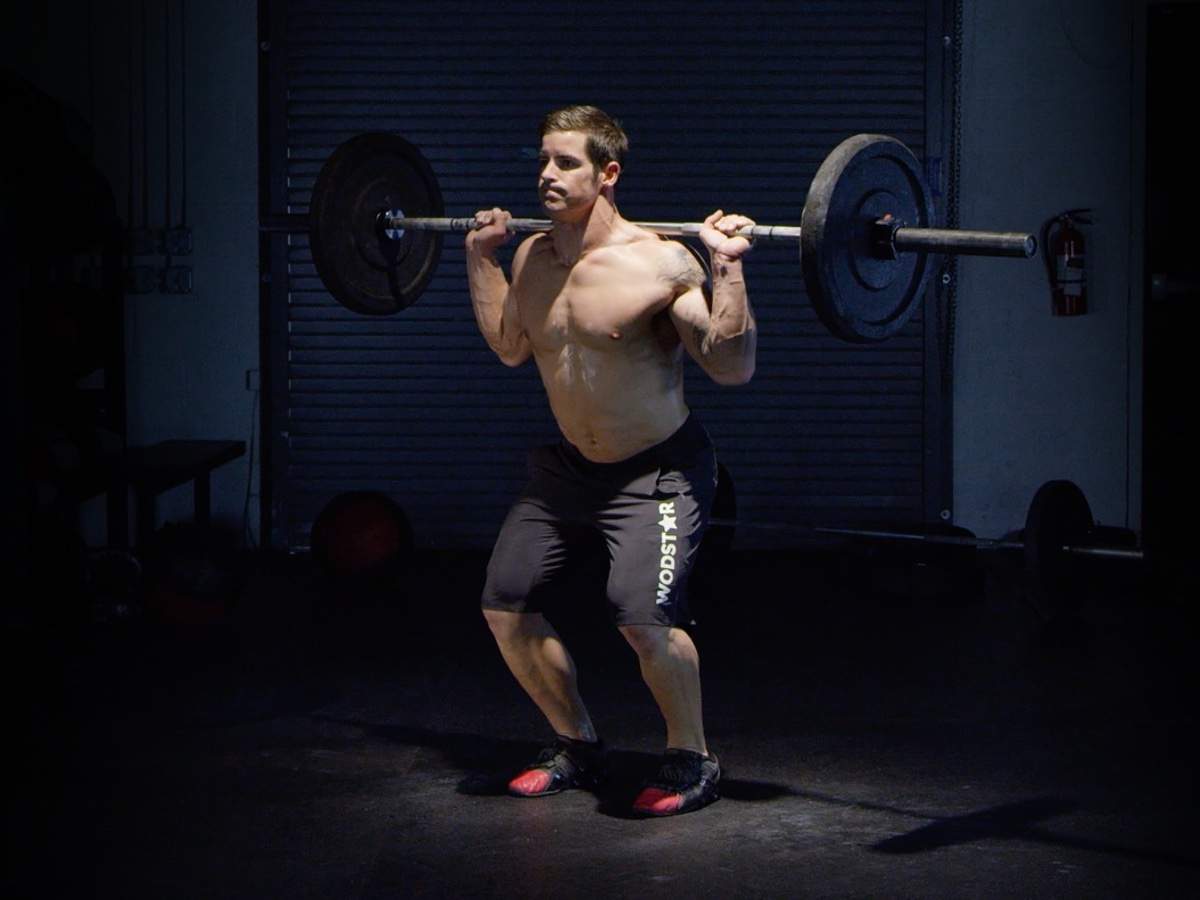 Behind the neck split jerk