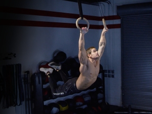 Kipping Ring Muscle-Up