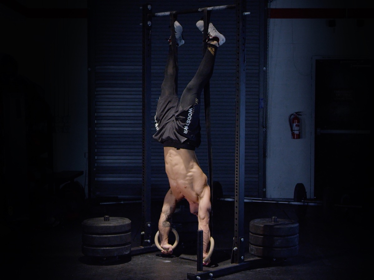 Ring Handstand Push Up