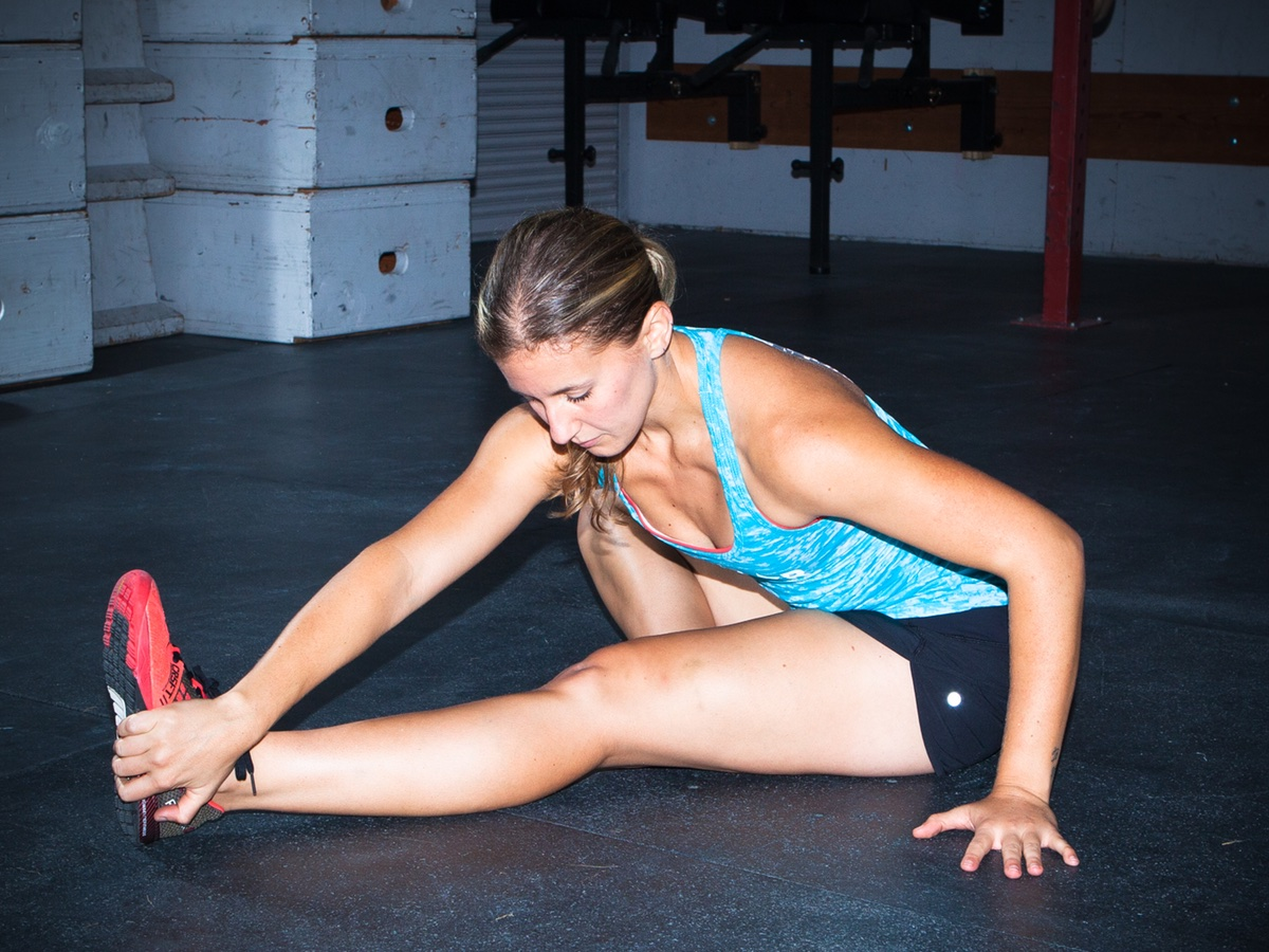 Head to Knee Forward Fold Yoga Pose