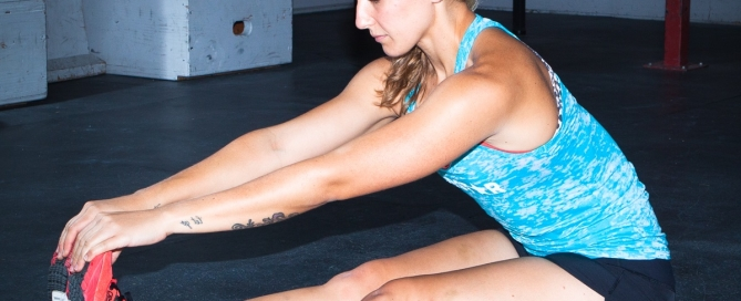 Seated Forward Fold Yoga Pose