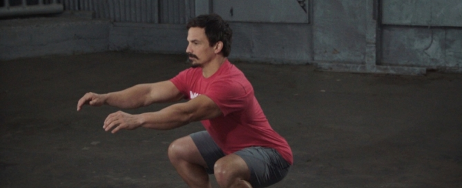 Josh Bridges Demonstrates how to do an Air Squat