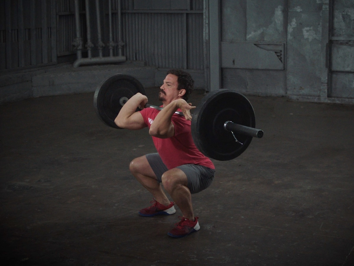 Front Squat by Josh Bridges