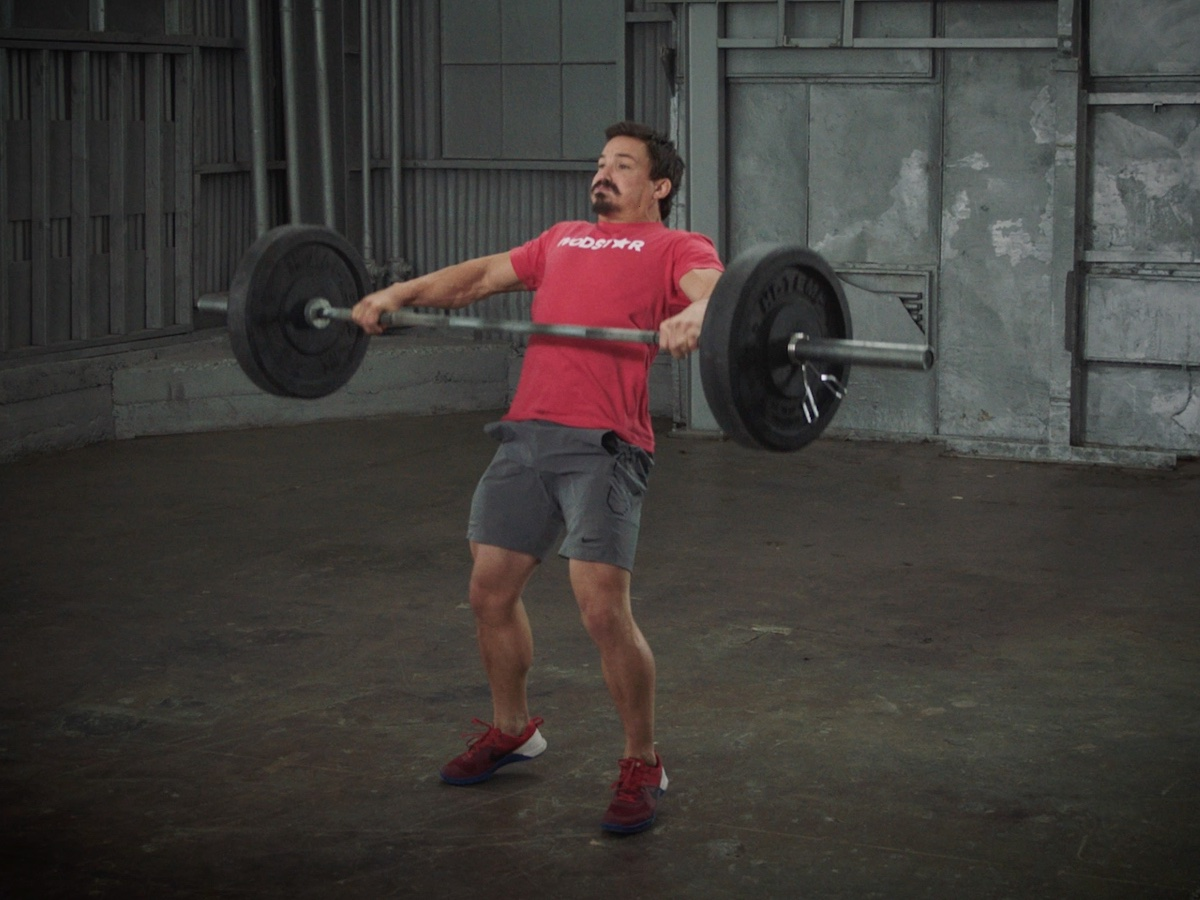 Hang Squat Snatch by Josh Bridges
