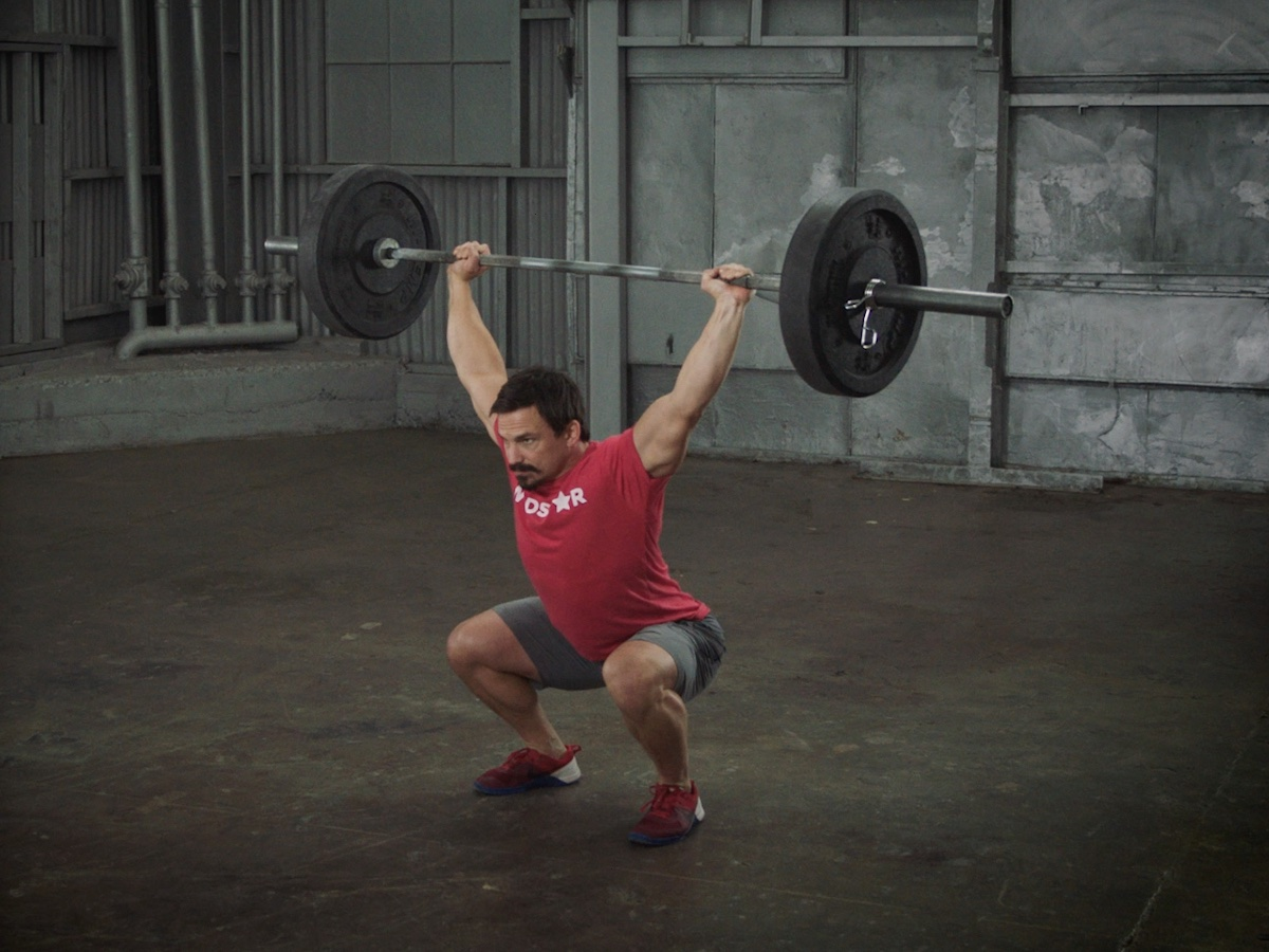 Overhead Squat by Josh Bridges