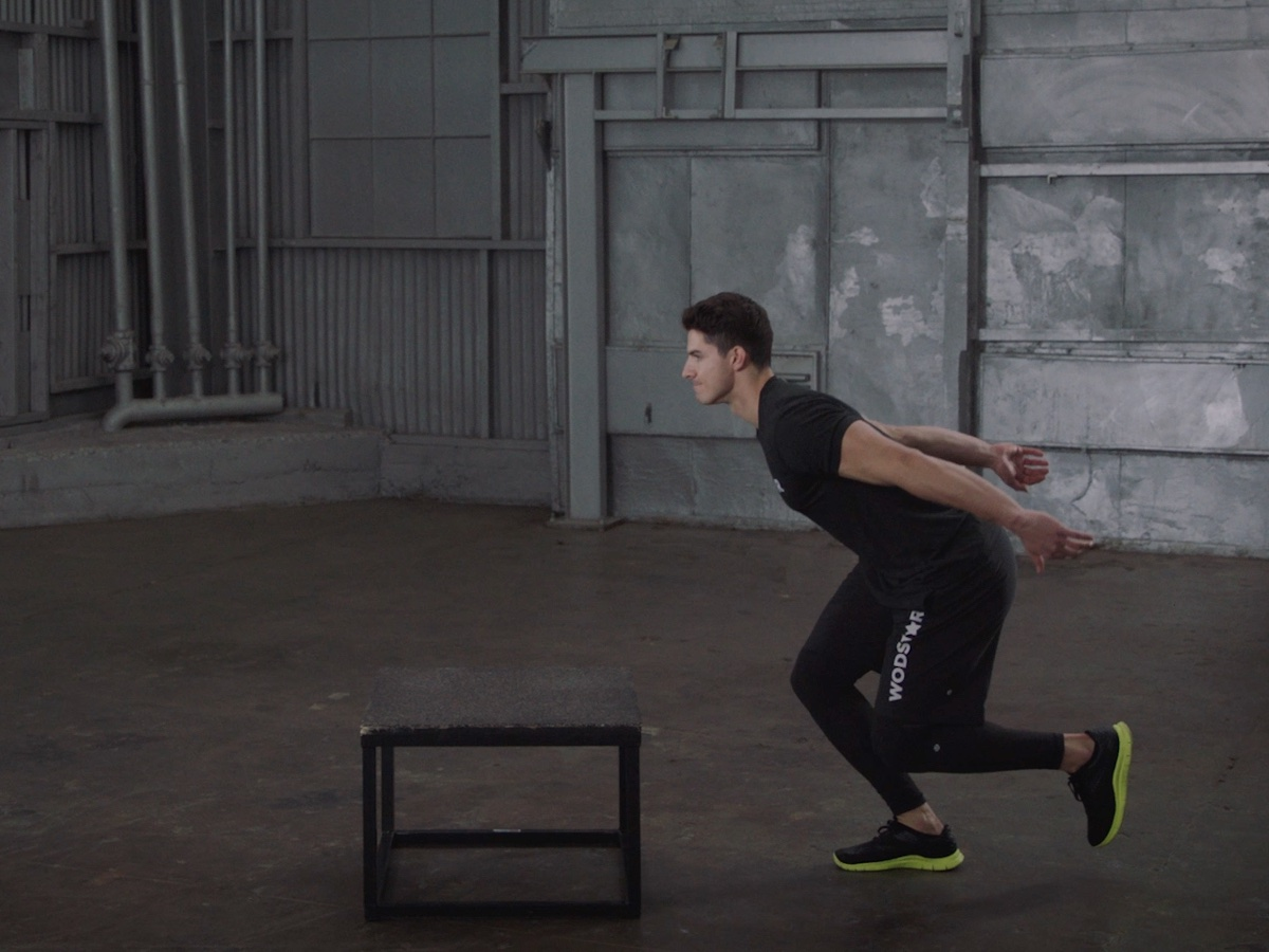how to a box jump