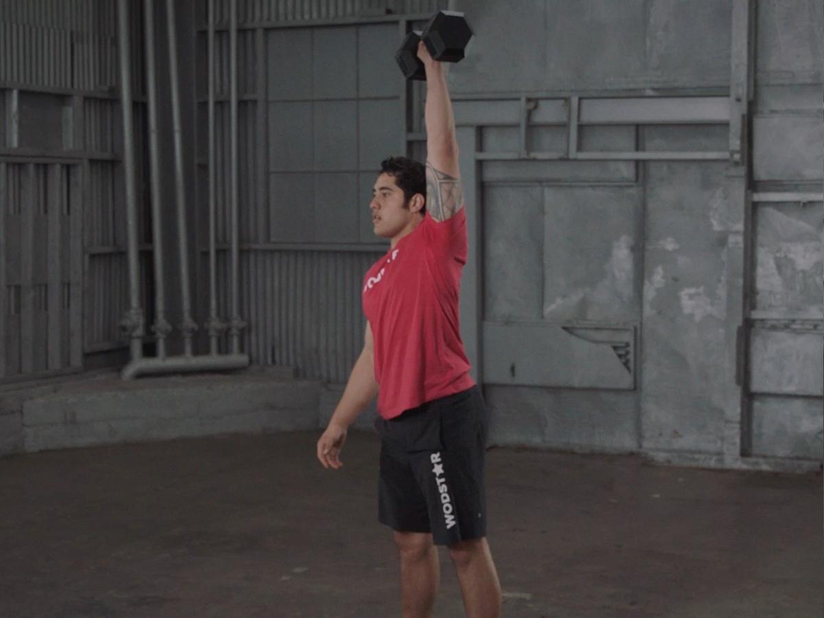 Single Arm Dumbbell Snatch