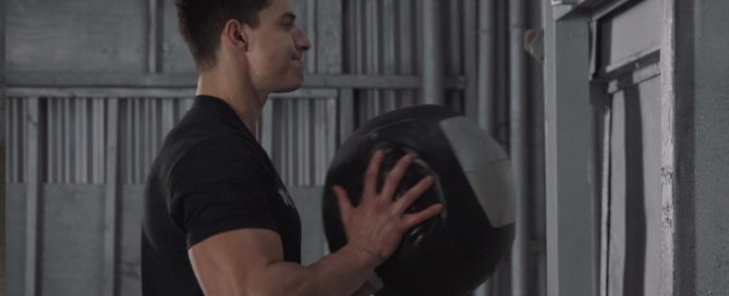 Medicine Ball Chest Toss