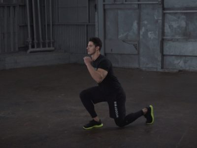 Lunge Jumps (Alternating)