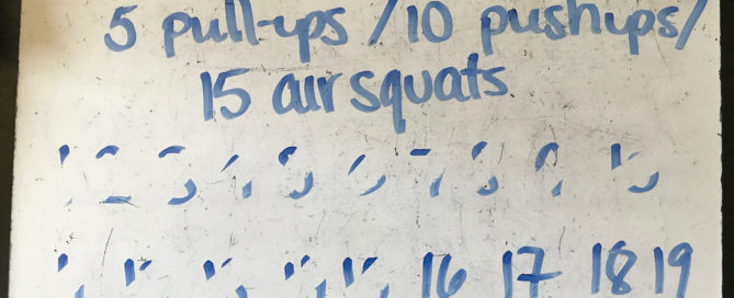 CrossFit Programming Whiteboard