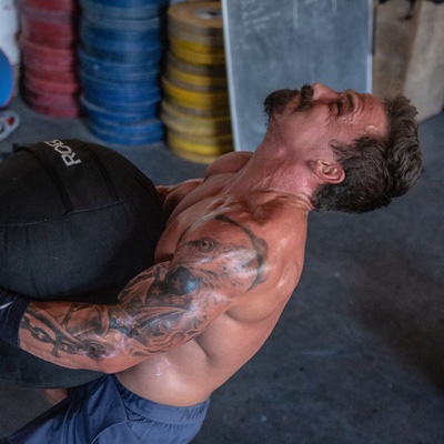 Josh Bridges Rogue Strongman Sandbag
