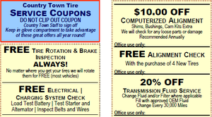 Free Coupon Booklet for Tires & Auto Services: $300 in Savings!