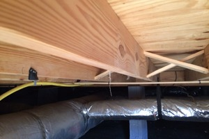 Crawl Space Moisture Control