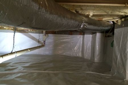 Offer crawl space encapsulation