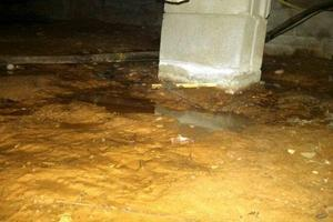 Crawlspace Water Removal