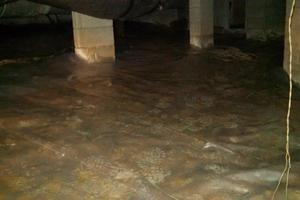 Crawlspace Water Removal, Columbia, SC