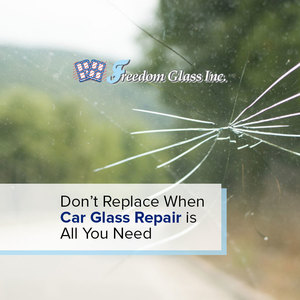 Don't Replace When Car Glass Repair is All You Need
