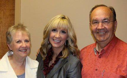 Angela & her parents