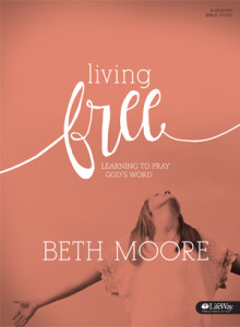 Cover of Living Free Bible Study by Beth Moore
